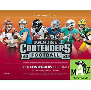 2020 Panini Contenders Football BASE INSERT PARALLEL You Pick Complete Your Set
