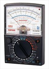 SANWA Analog Multitester Multimeter YX-361TR Wide measurement range F/S JAPAN