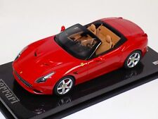 1/18 MR Collection Ferrari California T open top Rosso Corsa Carbon Base