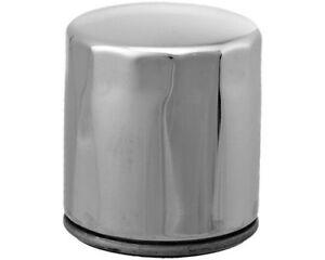 HifloFiltro Oil Filter Chrome HF204C