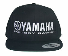 875262d786b Yamaha Factory Racing Hat Cap Flat Bill Snap Back Black MX YZF YFZ RI R6