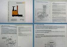 Jungheinrich ETVQ 20/25 Gabelstapler Betriebsanleitung Operation instructions