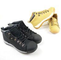 Megastore 247 Safety Steel Toe Cap Work Boots Unisex Honey/Brown UK 10
