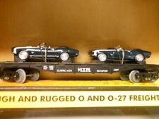 MTH *NEW* Flatcar W/Ertl 1967 Camaros 30-7670