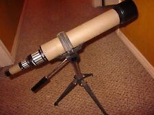 "Tasco 18E Spotting Scope and Tripod 20X-60X (D=60mm) Very Good 20 1/2"""