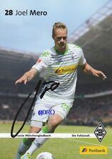 Joel MERO + Borussia Mönchengladbach + Saison 2013/2014 + Autogrammkarte