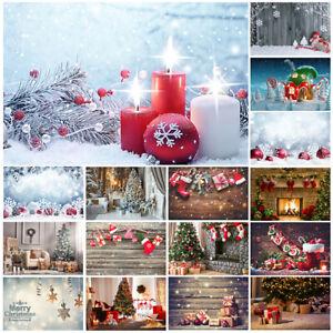 Print Christmas Photography Background Wedding Backdrop Studio Props Party Decor