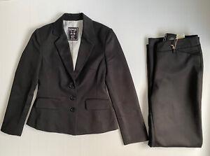 Cathouse Rivers Suit Set Black Blazer Jacket Size 8 & Trouser Pants Size 10