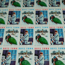 FULL SHEET BOYS TOWN NEBRASKA STAMPS FROM 1962