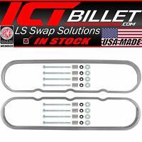 ICT Billet LT Series Valve Cover Spacer 1//2 L83 L86 LT4 LT1 LTX 551380-5