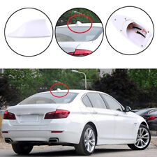 Car Universal White Shark Fin Roof Antenna Aerial FM/AM Radio Signal Decor Trim