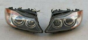 06-08 BMW E90 325i 330i 328i Dynamic Xenon HID Headlight assembly, Pair L&R