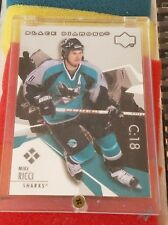 2003-04 BLACK DIAMOND MIKE RICCI QUAD DIAMOND 178 SAN JOSE SHARKS