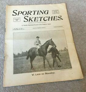 1903 Sporting Sketches magazine with mostly Horse Racing content