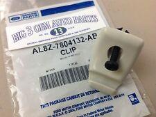 2010-2012 Ford Escape Stone tan Sun Visor Reatainer CLIP new OEM AL8Z-7804132-AB