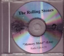 "Rolling STONES ""Memory motel"" 1 Track Promo CD Exrem RAR"