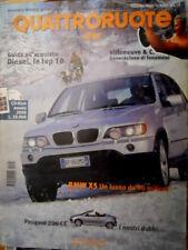 Quattroruote 544 2001 BMW X5: lusso da 90 milioni. Villeneuve & C.: fenomeni Q73