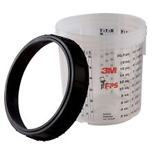 3M™ PPS™ Type Medium Cup and Collar Pkg/2 #16001