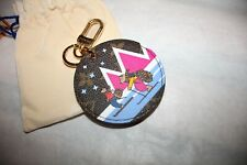 NEW LOUIS VUITTON ANIMATION BEARS SKIING WINTER BAG CHARM KEY CHAIN LIMITED RARE
