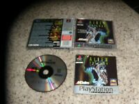 Alien Trilogy Playstation 1 PS1 Game Pal Version