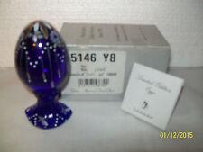Fenton Spring 2000 Cobalt Collector Egg 5146 Y8 #1705/3000