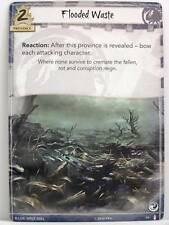 Legend of the Five Rings LCG - 1x #061 Flooded Waste - The Ebb and Flow