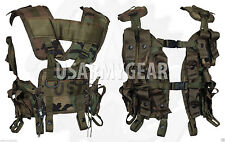 2 Made in US Army Military Tactical Grenade Carrier Load Bearing Cargo LBV Vest