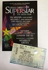 """""""Jesus Christ Superstar"""" The Arena Tour, Flyer & Ticket, Melanie C, Spice Girls"""