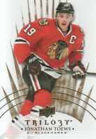 2014-15 Upper Deck Trilogy Hockey #62 Jonathan Toews Chicago Blackhawks