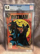 Batman #423 (1988) DC Comics CGC 9.0 Todd McFarlane Batman cover 3rd Print