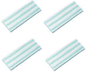 4x Leifheit Wischpad Picobello S Micro Duo (27 cm)  aus Mikrofasern