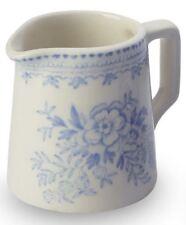 Burleigh cream jug blue Asiatic Pheasants mini milk tot 5cm