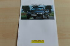 148879) Karmann Renault R 19 Cabrio Prospekt 199?