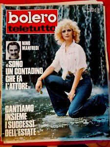 BOLERO TELETUTTO 1424 1974 PATTY PRAVO Manfredi Rossella Falk MIA MARTINI Bertè