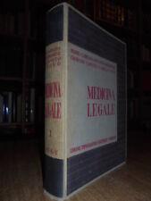 MEDICINA Legale.Mario, Carrara-Ruggero Romanese-Giorgio Canuto-Tovo Camillo 1937