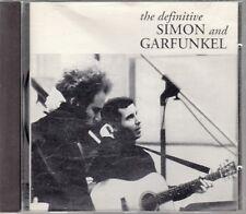 """CD ALBUM  SIMON & GARFUNKEL  """"THE DEFINITIVE SIMON & GARFUNKEL"""""""
