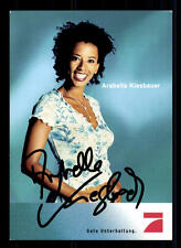 Arabella Kiesbauer PRO 7 Autogrammkarte Original Signiert # BC 41206