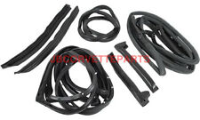 73-77 Corvette Weatherstrip Kit Body NEW 9 Piece Import
