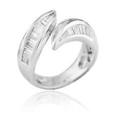 18K White Gold 1.22Ct Diamond Ring 3.5 Grams Ring Size 6