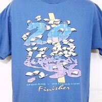 Bloomsday Finisher Mens T Shirt Vintage 90s 1996 Spokane WA Race Made In USA XL