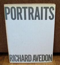 SIGNED Richard Avedon Portraits Andy Warhol Igor Stravinsky Chicago Seven HC DJ