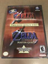 Legend Of Zelda Ocarina Of Time & Master Quest (Gamecube, 2003) NEW US SELLER.
