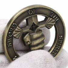 Sword Rpg fan Gift Idea coin warrior commemorative gamer bronze anniversary New