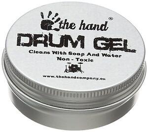 The Hand - Drum Damper Pads - Transparent (Pack of 6)  - DRUMGEL6T