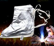 Aluminized Aluminum Foil Welding Shoe Spats Protectors Welder Working Tool