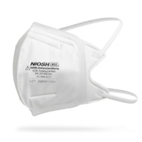 N95 FOLDABLE FACE MASK Filtration Mask - Face Protection [NIOSH# TC-84A-9236]