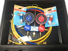 New Robinair Cooling and Heating Systems R134a A/C Service Manifold Set 47010