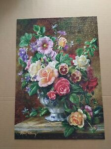 CASTORLAND PUZZLE FLOWERS IN A VASE 500 PIECES PIECE JIGSAW 47X33 CM 18,5X13 IN