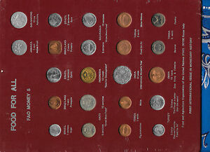 FAO Money Page 5 22 Coins of Various Nations original Plastic SEALED