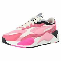 Puma 371570 06 RS-X3 PUZZLE Damen Sneaker Turnschuhe Dad Shoes Pink Rosa Weiß